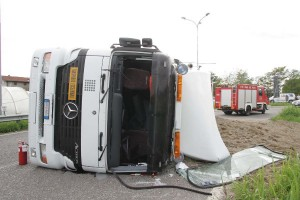 incidente camion