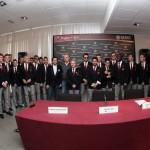 Reggina Calcio Press Conference & Official Team Photo