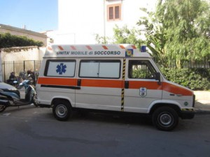 PALERMO, AMBULANZA