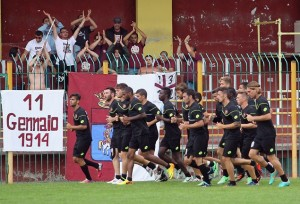 Reggina Calcio Pre-Season Training Session