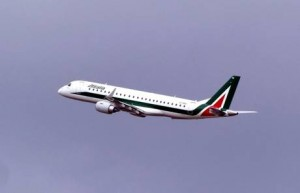 ALITALIA: INAUGURATO NUOVO VOLO ROMA-LONDON CITY