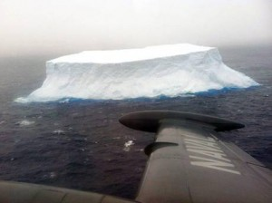 Iceberg spotted off southern Chile