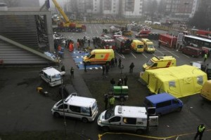 At least 25 killed in Riga supermarket roof collapse