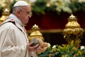 Pope's midnight Christmas Mass