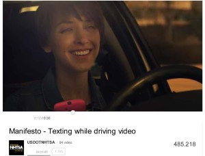 Manifesto - Texting while driving video - YouTube-1