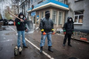 Pro-Russia activists seize eastern Ukraine police offices