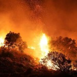 >>>ANSA/USA: INFERNO DI FUOCO IN CALIFORNIA, INCENDI AREA SAN DIEGO