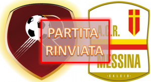 Reggina Messina rinviata