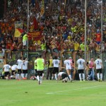 reggina messina festa