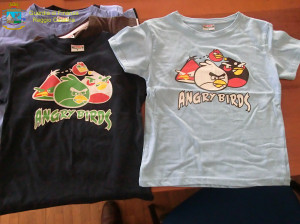 MAGLIETTE ANGRY BIRDS