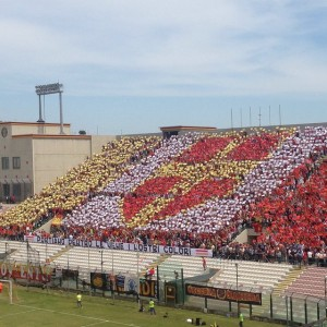 messina reggina coreografia
