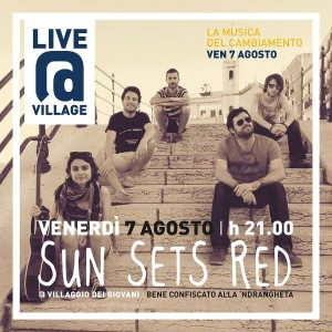 Sun Sets Red - Live@Village