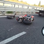 reggio incidente moto (9)