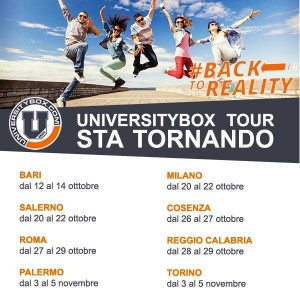 UNIVERSITYBOX TOUR