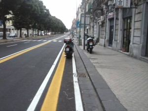 pista ciclabile messina