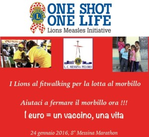 One Shot One Life_Lions Messina Peloro