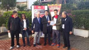 Premio fair play a Corrado Summaria