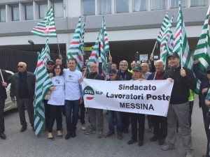cisl messina protesta poste