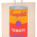 Campbell s Soup Can on Shopping Bag, 1966, screenprint on shopping bag. Collezione Rosini -Gutman