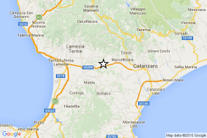 terremoto catanzaro