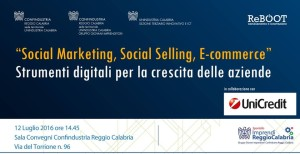CONF RC_12 LUGLIO_SOCIAL MARKETING, SOCIAL SELLING, E-COMMERCE