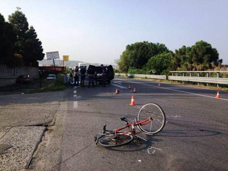 PELLARO (RC). Incidente stradale: muore ciclista