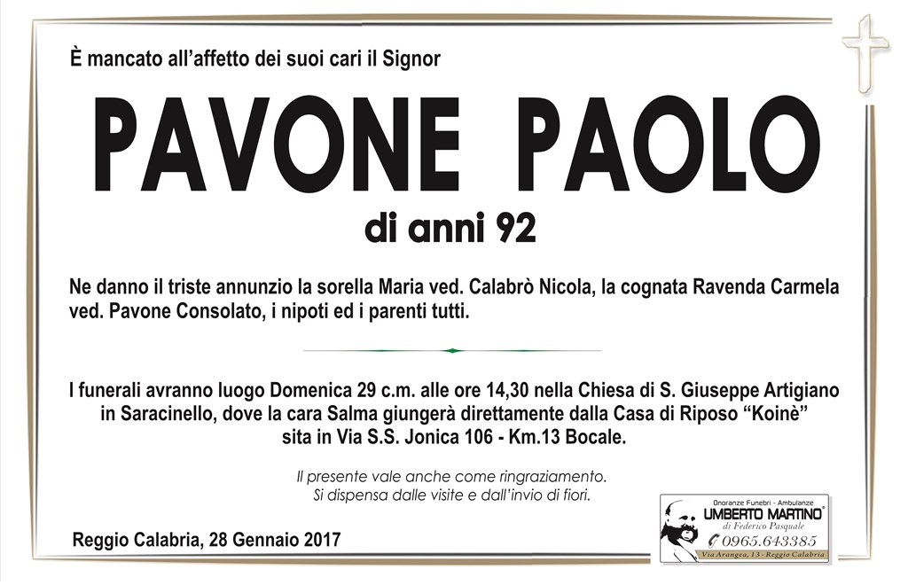 Pavone Paolo