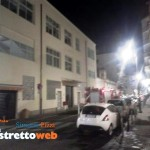 Incendio di due veicoli in via filippini (1)