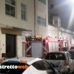 Incendio di due veicoli in via filippini (2)