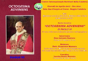 Manifesto - Octogesima adveniens - Paolo VI