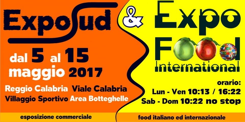 expo sud ed expo food