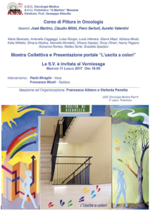 Invito Vernissage Oncologia