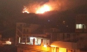 incendio camaro messina