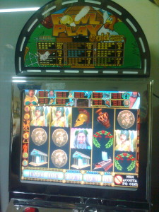 Cosenza Slot Machine