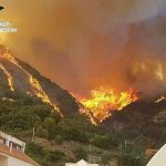 Incendio Messina