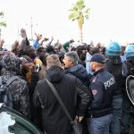 protesta migranti via marina