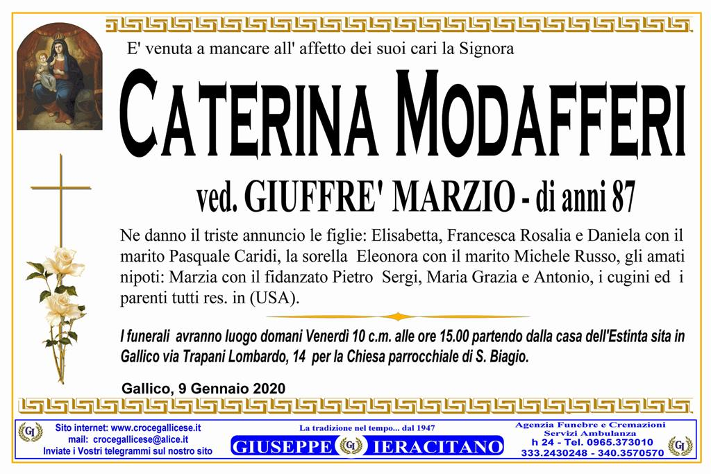 MODAFFERI CATERINA