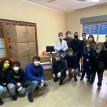 Rotary consegna materiale