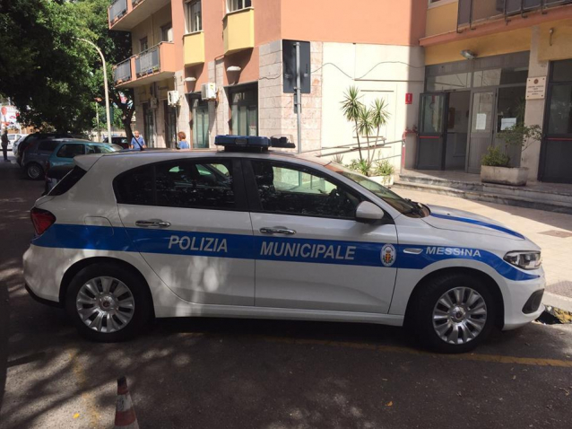 polizia municipale messina