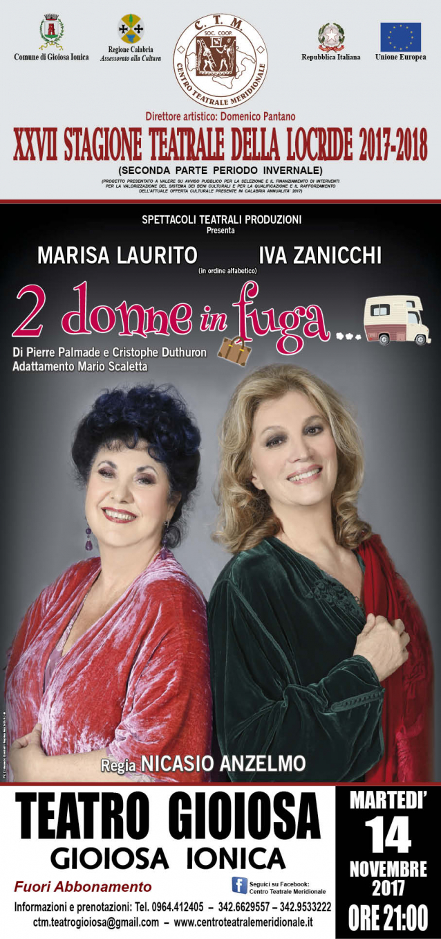 due donne in fuga