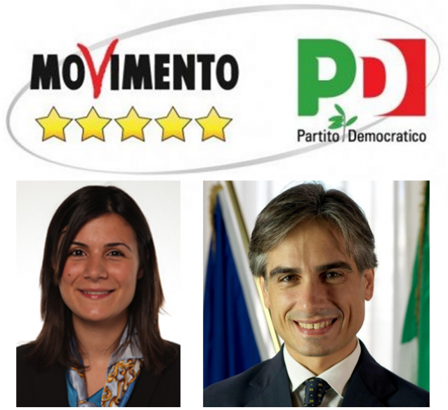 falcomatà dieni m5s pd