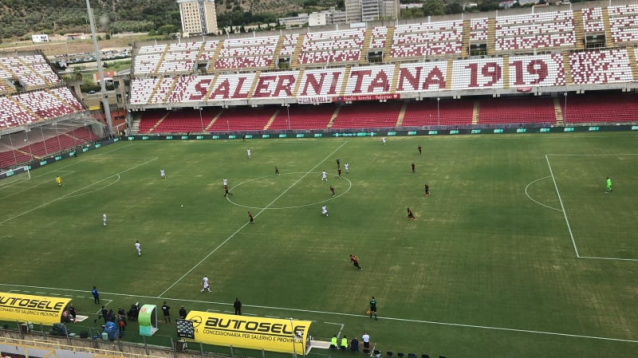 salernitana-reggina 0-0 live