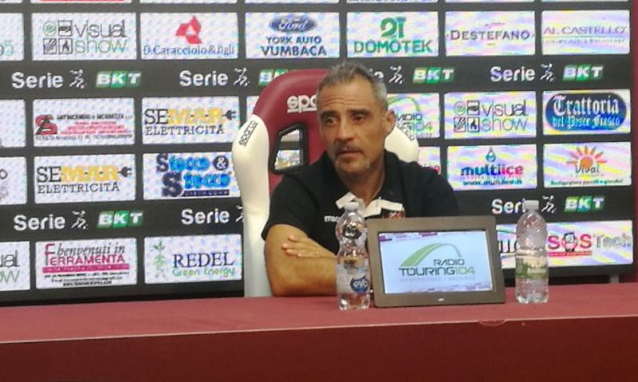 toscano conferenza prepartita salernitana-reggina
