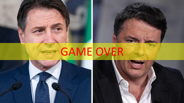 conte renzi game over