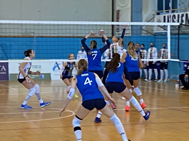 Sikom Akademia Sant'Anna vs Volley Reghion