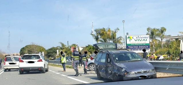 incidente ss 106 san leo pellaro