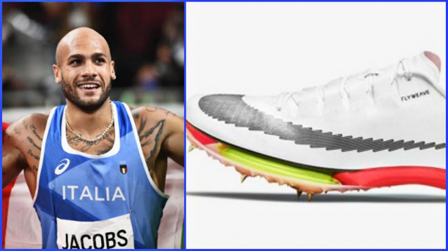 Scarpe Marcell Jacobs